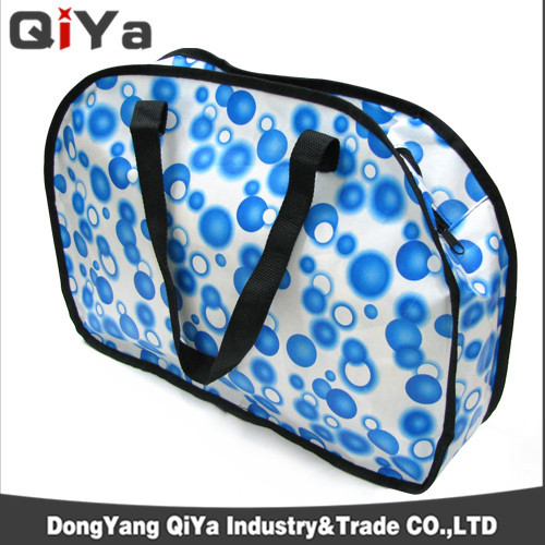 China Suppliers Wholesale Cheap Reusable Promotional Huge Capacity PP Webbing Foldable Non-woven Shopping Bags