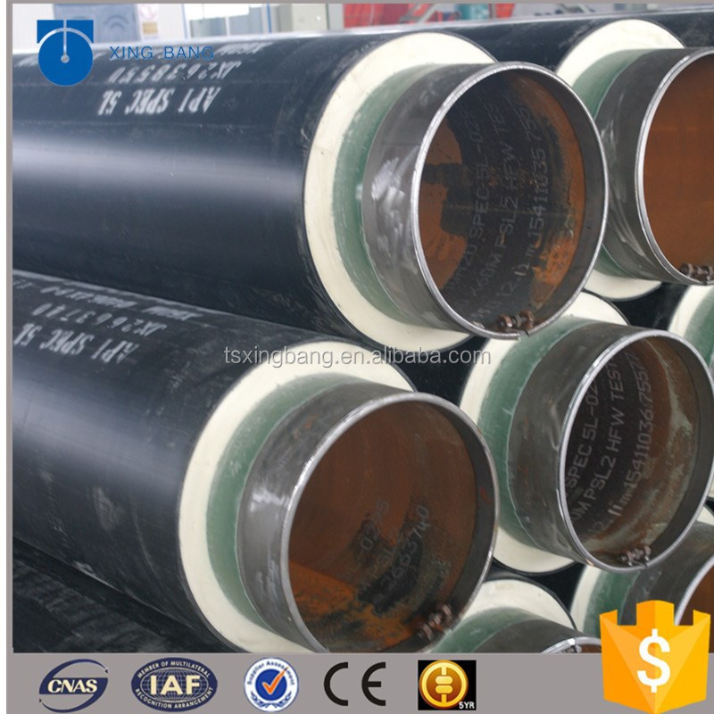 Dubai underground cooling pipeline systems insulation pipe with waterproof cap and alarm line