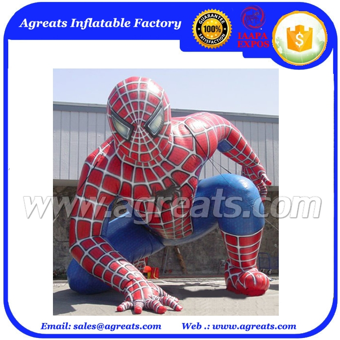 Inflatable character hero ground human balloon inflatable balloon man on sale S2058