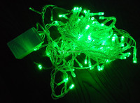 CE&RoHS cetificate New 2017 Christmas Green 5M 100LEDs Dragonfly Lamps Garden Outdoor solar led garland string light