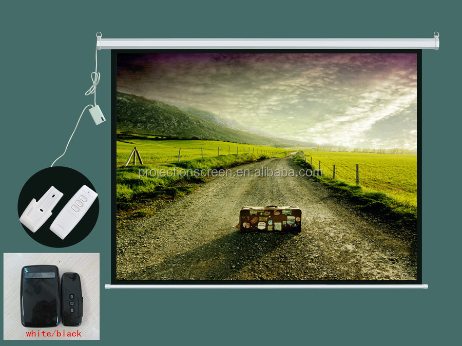 72-150 inch electric projection screen