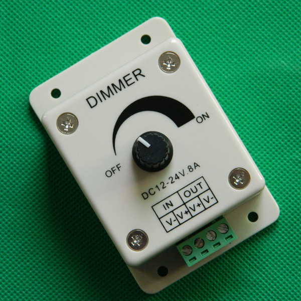 Good quality Rotary wall switch led driver dimmer/automatic dimmer 12V