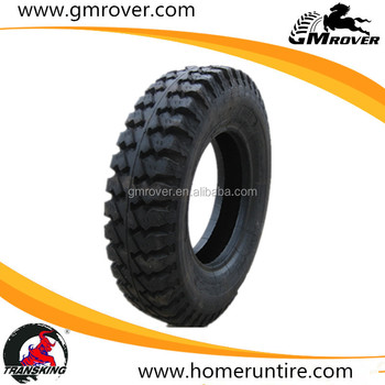 Chinese cross country tread pattern tire 750-16 7.50-16