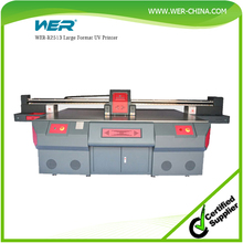Large format metal sheet uv printing machine/metal uv led flatbed printer