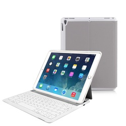 High Quality Slim Aluminium Wireless Keyboard For Ipad Pro 10.5'' with leather flip cover