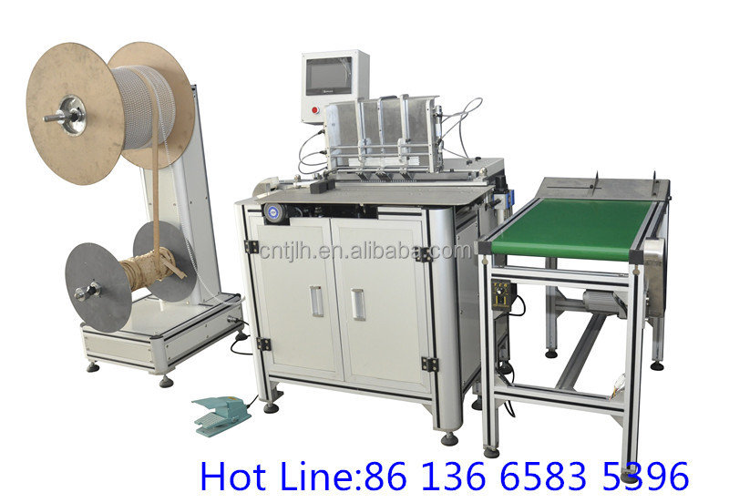 Twin ring wire Binding machine