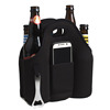 Promotional 6 Pack Insulated Neoprene Beer Bottle Cooler Bag With Opener Holder