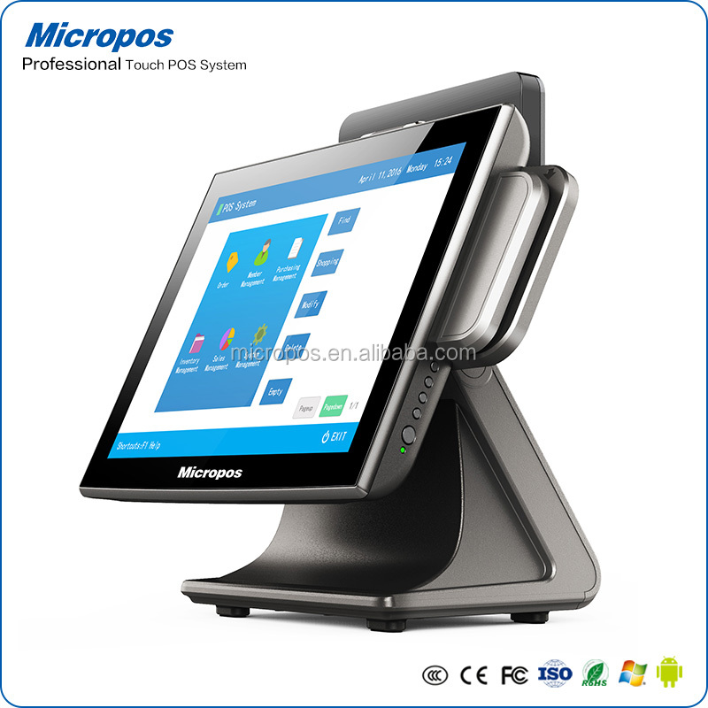 Touch Screen electronic cash till EPOS Machine Touch POS