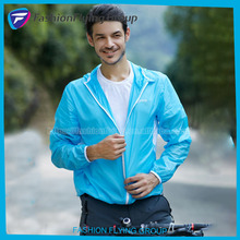 Outdoor Cycling Skin Clothing Men Ultra-Thin Summer Sun Racing Sports Breathable Skin Windbreaker Jackets