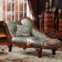 MOQ=1set Macaron Color Wedding Sofa Lounge, Foshan Solid Wood Carving Cheap Wedding Chaise