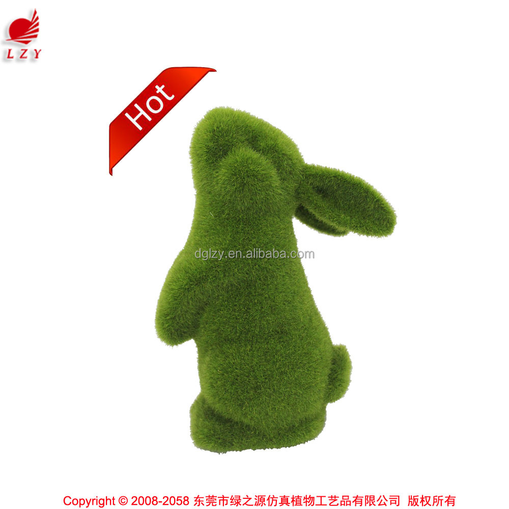 Pet product gardening item for home and garden decoration moss rabbit