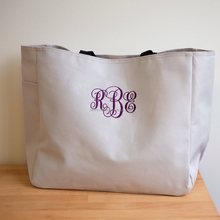 Recyclable bridal party tote bag canvas bag with embroidery logo