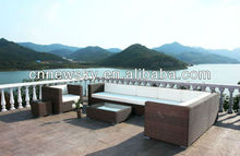 best quality rattan patio sofa set