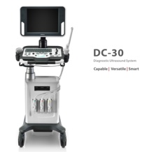 CE ISO approved USG ultrasound scanner with CW PW function, Mindray DC 30 ultrasound price