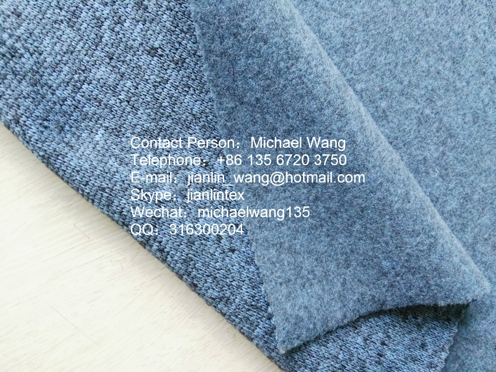 100% Polyester Knitted Fabric Cation Coarse Needle Polar Fleece for Coat