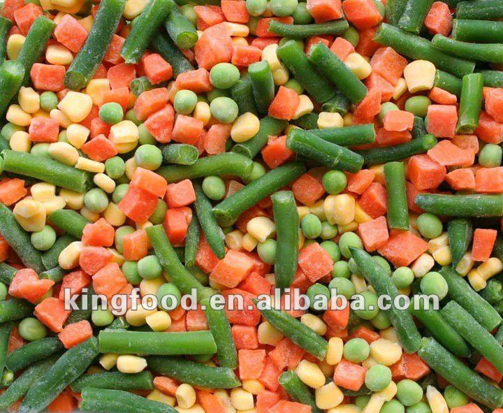 Import IQF mixed vegetables