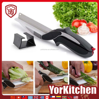 2016 selling best top quality cheap cutter vegetable kitchen clever knife
