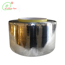 Delicate texture aluminum foil permanent sealing tape security waterproof adhesive tape