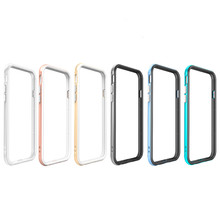 Hot Popular Round Border Metal Bumper Mobile Phone Case For Iphone6 aluminium