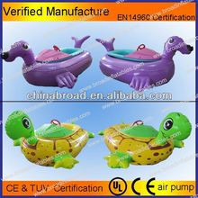Colorful and durable CE/TUV water bikes factory sale/pedal boat