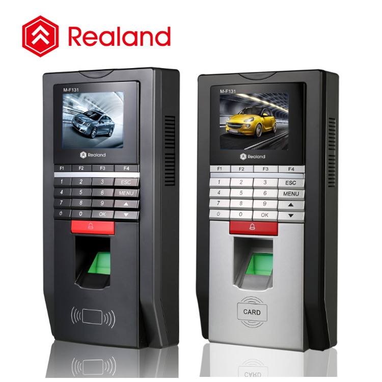 Realand M-F131 thumb scanner machine biometric access control time attendance