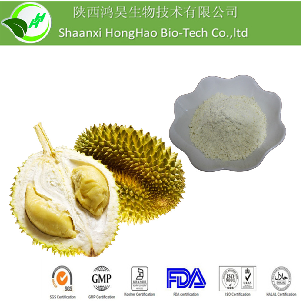Hot Sale Fruit Powder Organic Freeze Drying Durian concentrate Powder