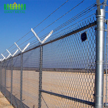 Factory Wholesale ISO & CE Hot Dip Galvanized Chain Link Fence