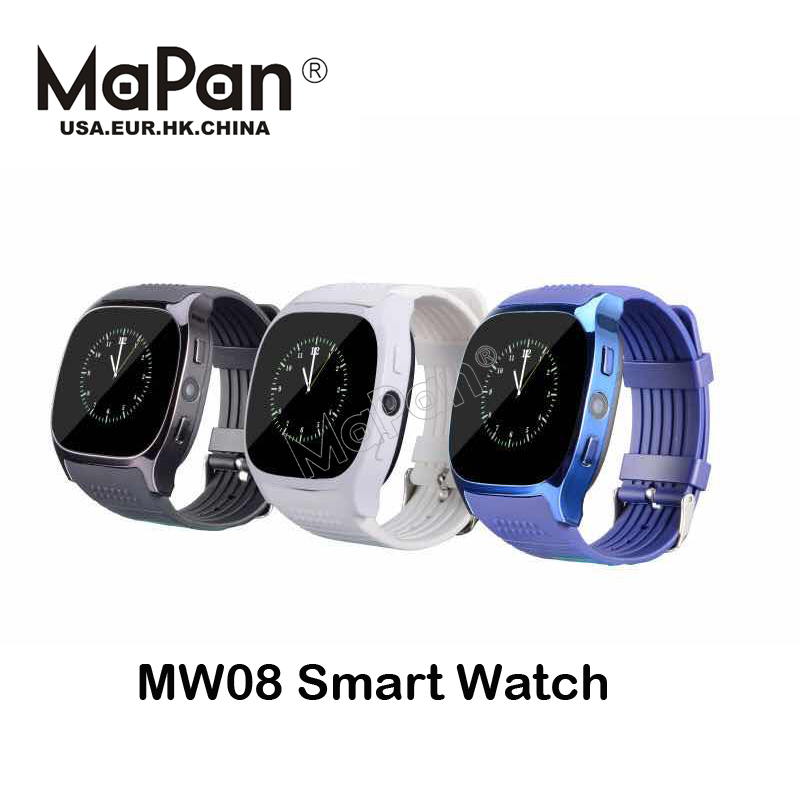 MaPan mw08 smart hand watch with mobile phone price factory price bluetooth 4g