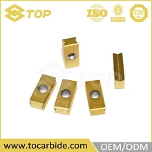 Factory price carbide insert grinding machine, hard alloy welding blade, milling insert