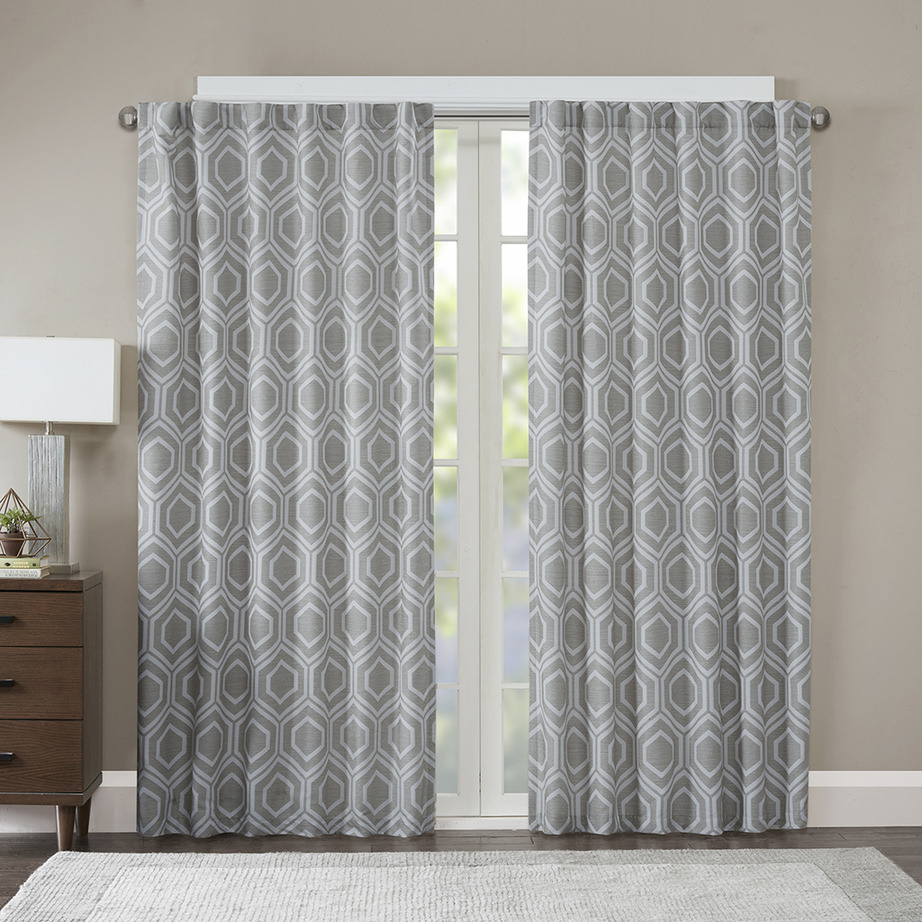 Wholesale Arabic garage door trellis jacquard window curtains