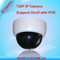 Cheap POE 720P 1.0MP Megapixel IP Camera Network Indoor Dome Camera for Home Security