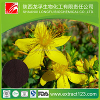 Free sample 0.3% Hypericum Extract. / St. John's Wort Extract Powder for Antidepressants