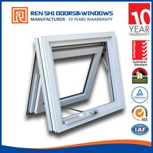 10 years warranty Australia standard Double Glaze Aluminium Chain Winder Awning Window as2047