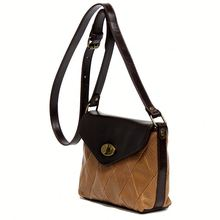 China Online Shopping Manufacture Direct Sale Genuine Leather Sling Bags for women