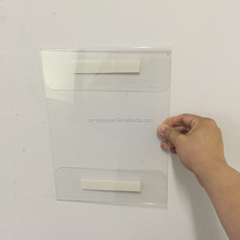 cheap wall mount acrylic a4 paper holder