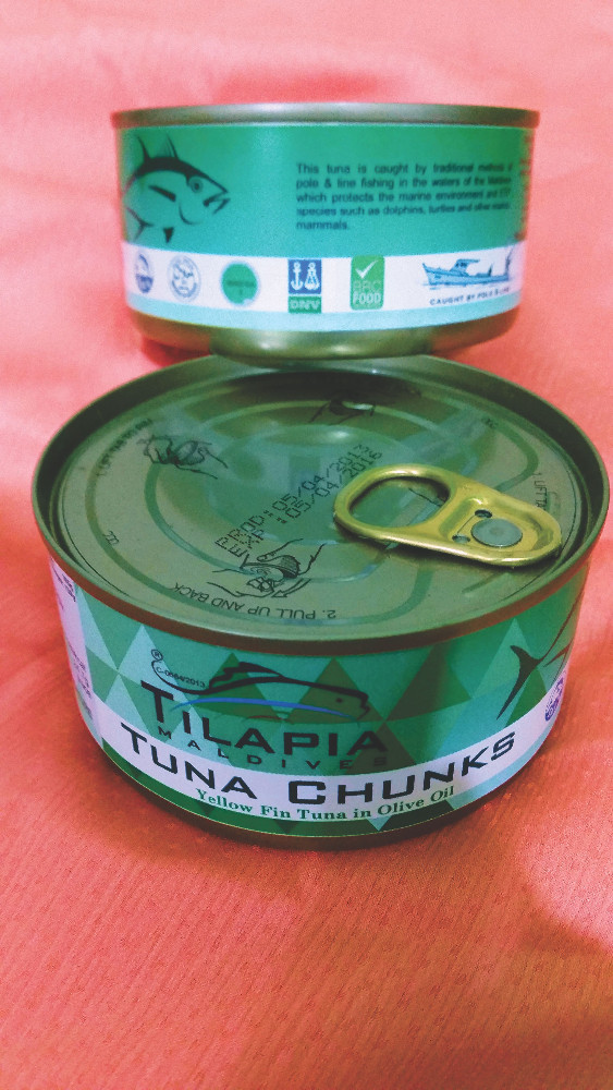 Canned Yellowfin Tuna in Olive Oil