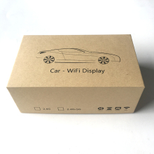 2018 newest custom packaging cartons for car wifi display box