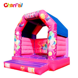 happy hop jumping castle moonwalk inflatable bouncer house Inflatable Bouncer for commercial use