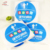 Factory design printing colorful self adhesive wall mirror custom round stickers for behavior