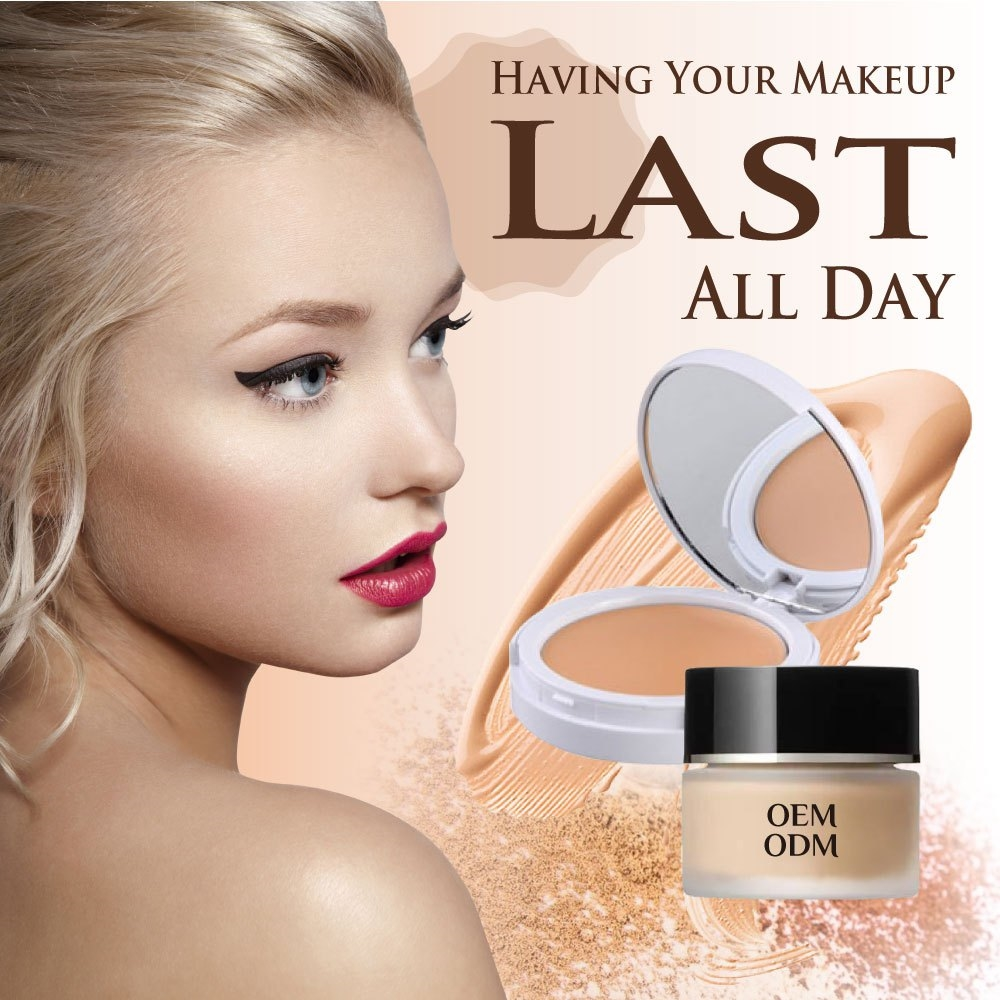 Private label makeup moisturizer best for oily skin liquid foundation