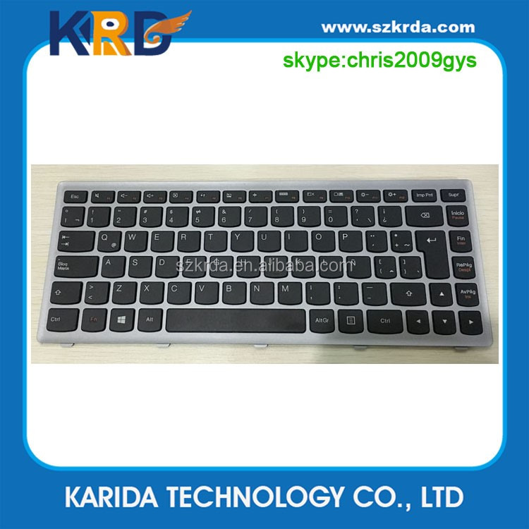High quality LA SP layout keyboard for Lenovo G400 G480 G500 laptop keyboard