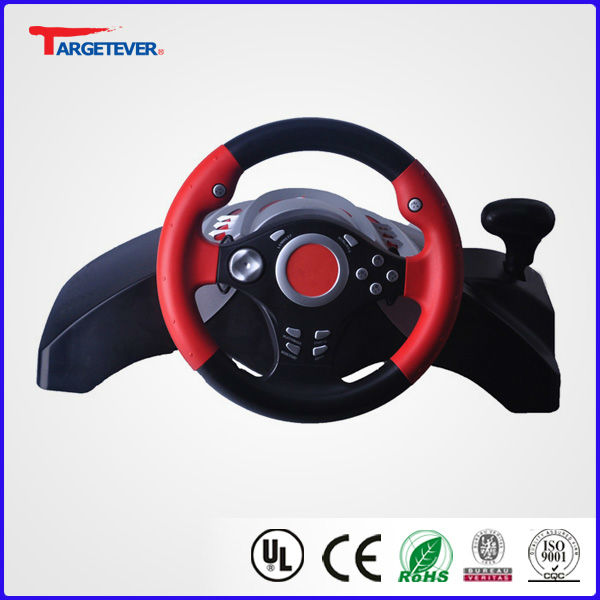 2013 Hottest USB Wheel With Vibration game wheels for sale