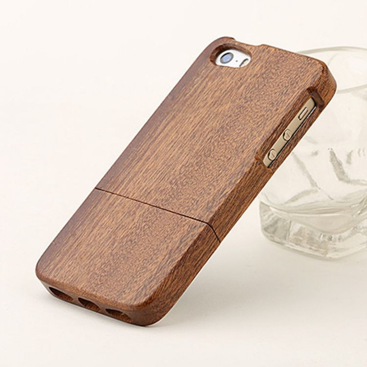 natural wood mobile/cell phone case/cover for i phone 5/5S/5SE
