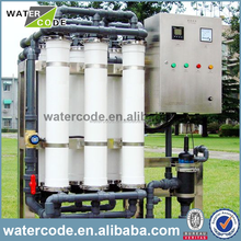 Package ceramic ultrafiltration membrane wastewater treatment plant for resort wastewater