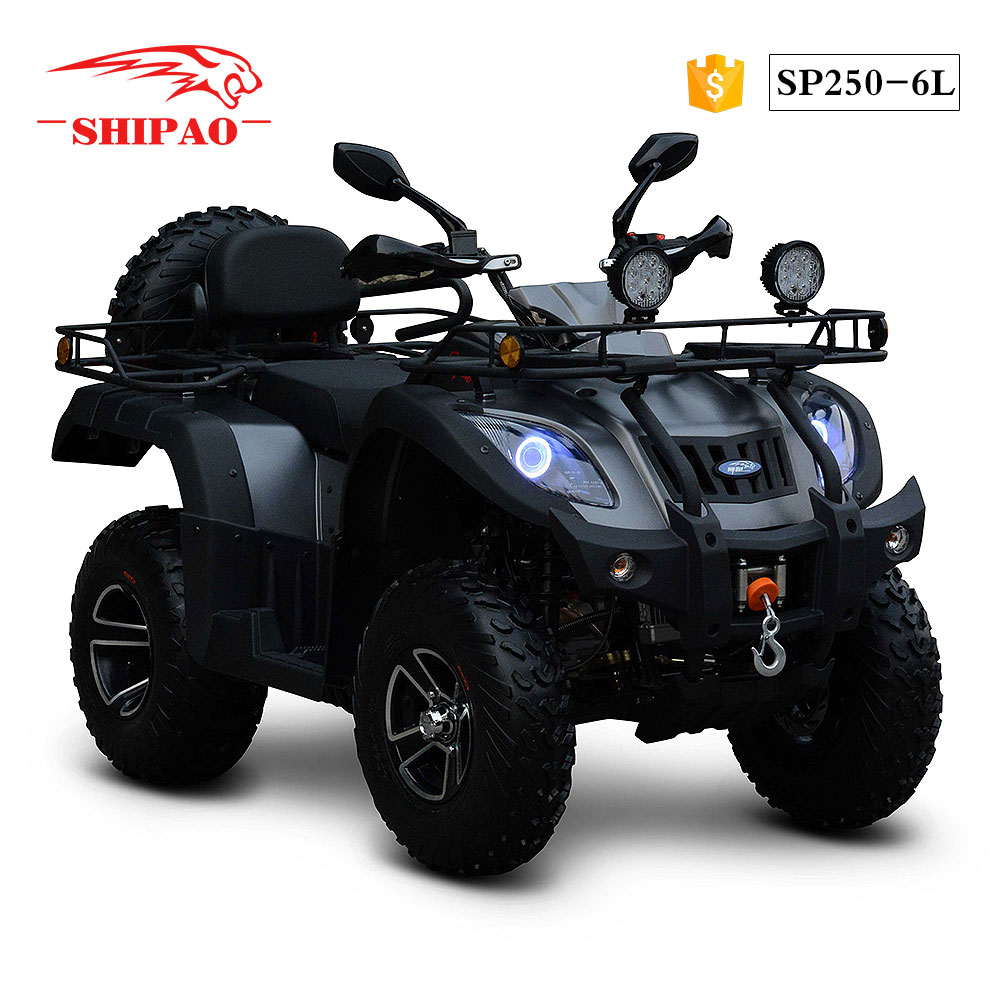 SP250-6L Shipao all new safety 250cc atv top speed
