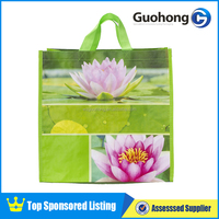 Fabulous recycled laminated pp woven shopping bag/foldable shopping bag