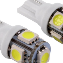 Auto LED Lamp T10 5SMD Canbus Error Free LED Bulb with Projector Lens