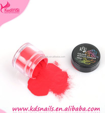 KDS pink white clear powder,nail art glitter powder