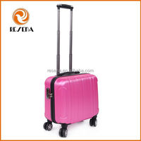 2015 fashion various color ABS laptop trolley bag, lady laptop bag
