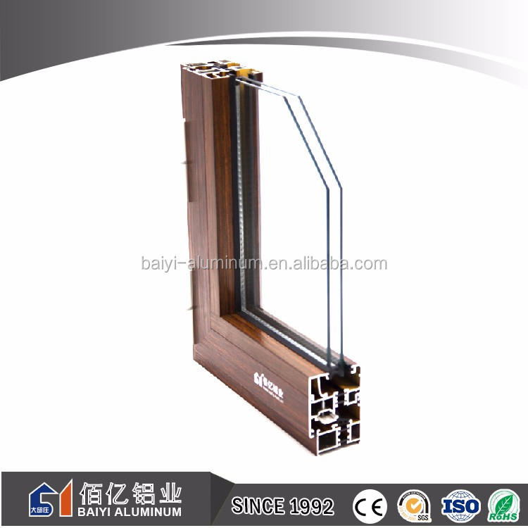 Chinese Supplier 6000 Series Alloy Arch Aluminum Window Seal
